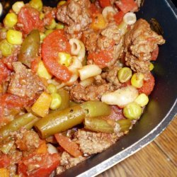 Ground Beef and Macaroni Medley recipe