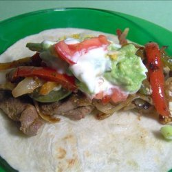 Sheri's Steak Fajitas recipe