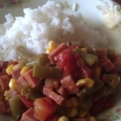 Spam Goulash recipe