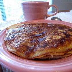 Rolled Oats and Pecan Pancakes recipe