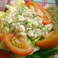 Creamy Cheesy Crab Salad recipe