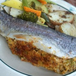 Stuffed Trout (Campside or Grilled) recipe