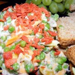 Really Good Pea Salad recipe