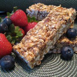 Chewy No-Bake Granola Bars recipe