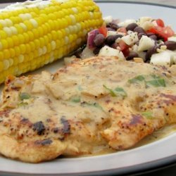 Chicken Breast With Basil Wine Sauce recipe