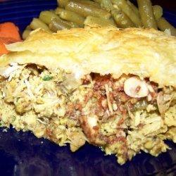 Bisteeya or Moroccan Chicken Pie recipe