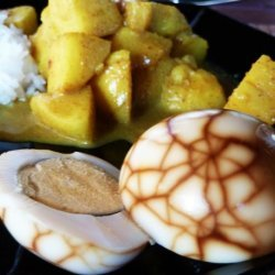 Indonesian Marbled Hard Boiled Eggs or Telur Pindang recipe