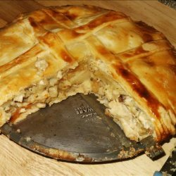Roasted Chicken Pot Pie recipe