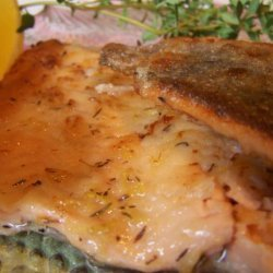 Lemon Thyme Rainbow Trout recipe