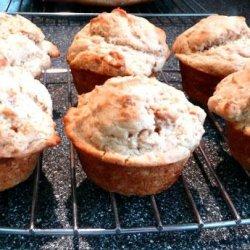 Golden Peanut Butter Muffins recipe