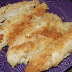 Crunchy Parmesan Chicken Tenders recipe