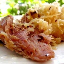Crock Pot Country-Style Ribs and Sauerkraut recipe
