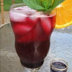 Blueberry Drink Syrup for Blueberry Iced Tea recipe
