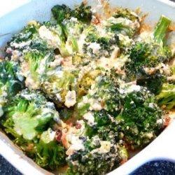 Cheesy Broccoli Casserole (Low Carb) recipe