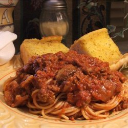 Hearty Homemade Italian Spaghetti Sauce recipe