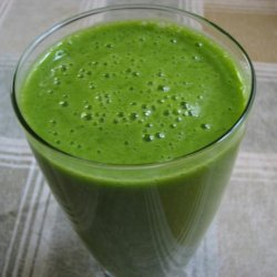 Lemony's Ugly but Awesome Spinach Smoothie recipe