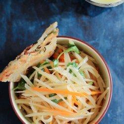 Chinese Potato Salad recipe