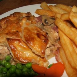 Chicken with Bacon, Mushrooms and Onions recipe