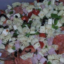 Supreme Pizza Pasta Salad recipe