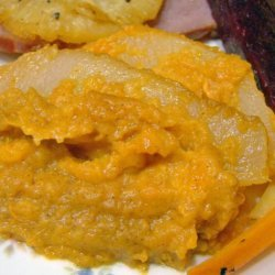 Sweet Potato and Pear Casserole recipe