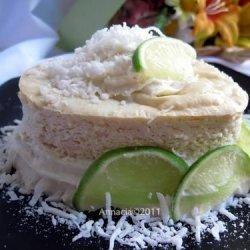 De Lime in De Coconut Cheesecake recipe