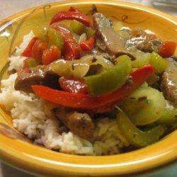 Gram's Chinese Pepper Steak recipe