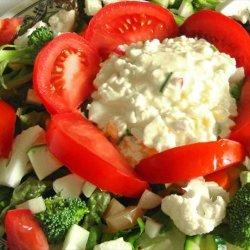 Lettuce Salad With Egg Salad   Dressing  recipe