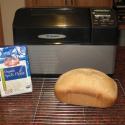 Basic Spelt Bread for Oven or Bread Machine recipe