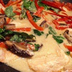 Thai Green Curry Salmon recipe