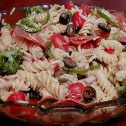 Pasta Salad Con Salami recipe