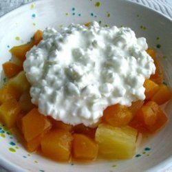 Cottage Cheese and Fruit Delight recipe