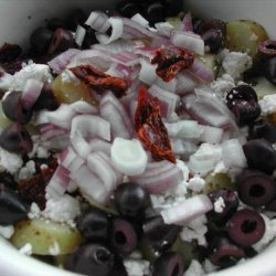 Greek Potato Salad With Sun-Dried Tomatoes recipe