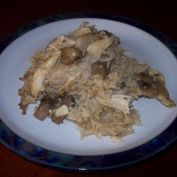 Marsala Chicken & Mushroom Casserole recipe