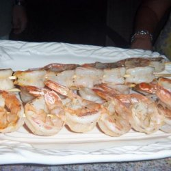 Simple Shrimp on the Barbie recipe