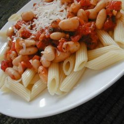 Pasta and White Beans in Light Tomato Sauce recipe