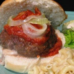 Saucy Pizza Burgers recipe