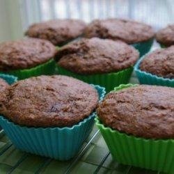 Low Fat Dark Chocolate Muffins recipe
