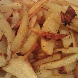 Italian Baked French Fries recipe