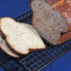 Wheat 'n Yogurt Bread for Bread Machine recipe