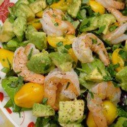 Shrimp, Avocado and Tomato Salad recipe