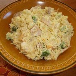 Curried Chicken Rice Salad recipe