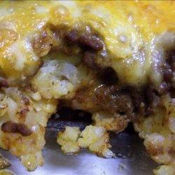 Victory's Taco Tater Tot Casserole recipe