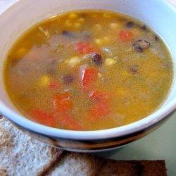 Azteca Squash Soup recipe