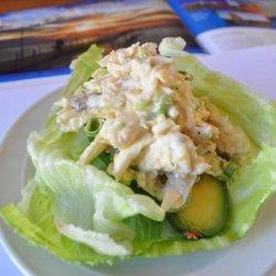 Avocado Stuffed With Crab recipe