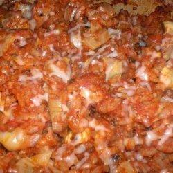 Baked Artichoke and Pesto Risotto recipe