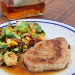 Maple Glazed Pork Chops recipe