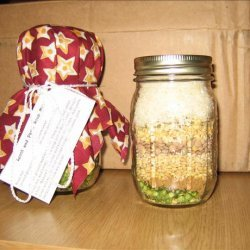 Lentils and Pasta Soup Mix for Ground Beef recipe