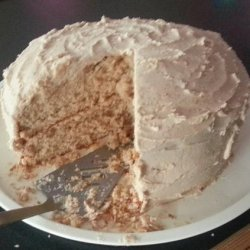 Jackie's Snickerdoodle Cake With Cinnamon Buttercream Frosting recipe
