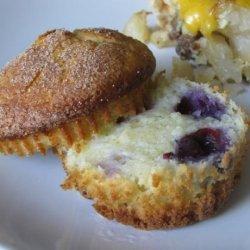 Kato's Blackberry & Blueberry Muffins recipe