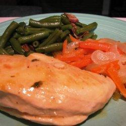 Lemon Chicken With Basil (Greece) recipe